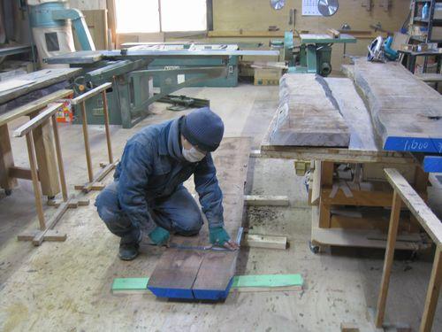 オーダー家具の施工